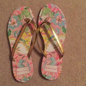 Lilly for target flip flops
